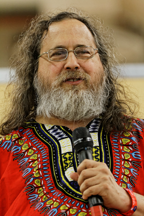 Image of Richard Stallman, founder of the GNU project